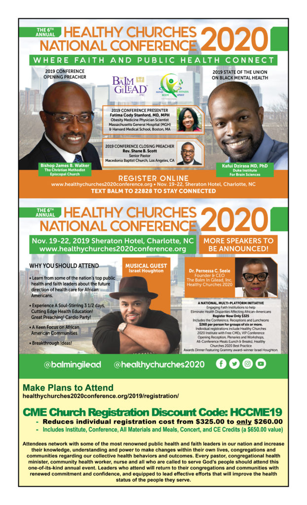Healthy Churches National Conference 2020