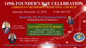 2019 Founders Day Celebration